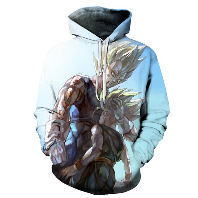 Dragon Ball Z Pocket Hooded Sweatshirts 3D Jackets