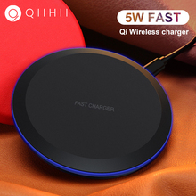 QIIHII Qi Wireless Charger For iphone X XS XR 8 Plus 5W Phone Samsung S10 S9 S8 Note 9 Fast