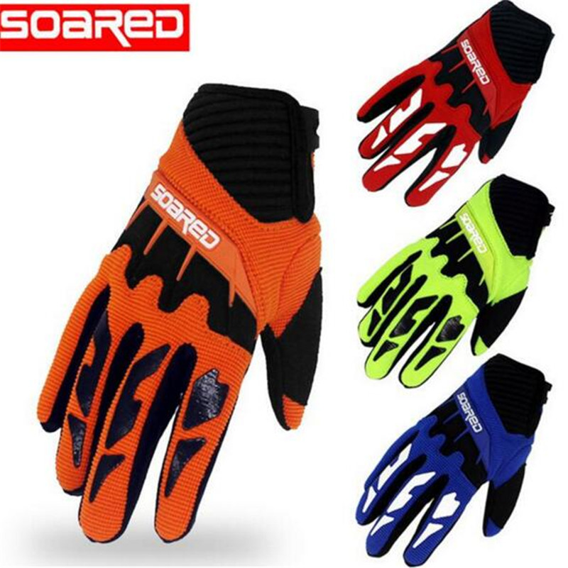 SOARED 3-12 years Old Kids Half Finger Cycling Gloves Skate Sports Riding Road Mountain Bike Gloves for Boys and Girls