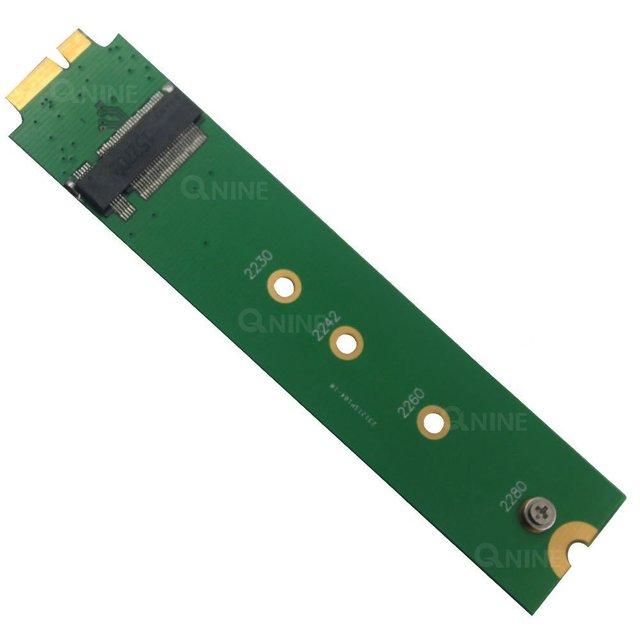 M.2 NGFF SSD para Adaptador 18Pin Como SSD de 2010-2011 Air A1369 A1370 MC505 MC506 MC968 MC503 MC504 MC965 MC966 MC969
