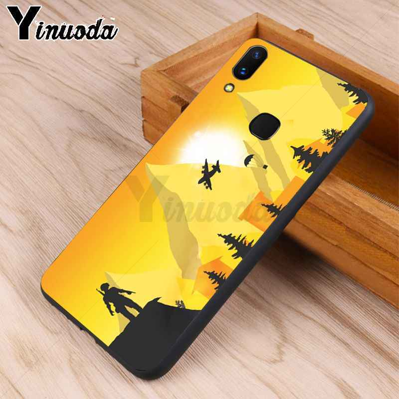 Yinuoda PUBG game Unique Design High Quality phone case for vivo v9 x20  x20plus x21 x21 ud nex Y83 v7 x9s coque