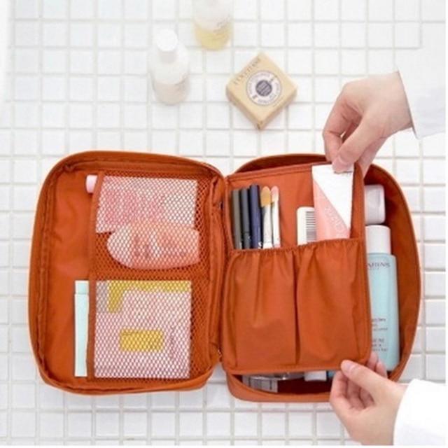 Free Shipping organizer bag Women Casual travel multi functional Cosmetic Bag storage waterproof bag