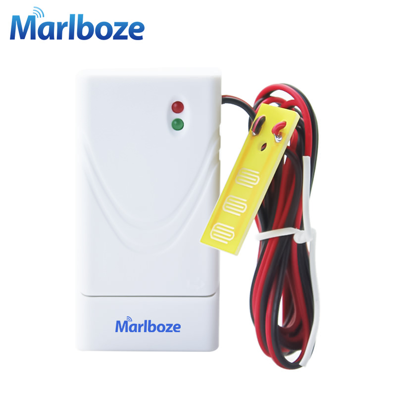 New 1pcs 433mhz Wireless Water Leak Detector Intrusion Detector for Home Security GSM Alarm System Flood Sensor with Battery forecum 433mhz wireless magnetic door window sensor alarm detector for rolling door and roller shutter home burglar alarm system