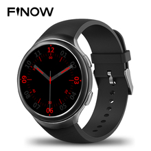 Finow X3 Plus Smart Wacht K9  Wearable Devices Smart Watch Men Android 5.1 MTK6580 1GB+8GB Quad Core Smartwatch  iOS Android