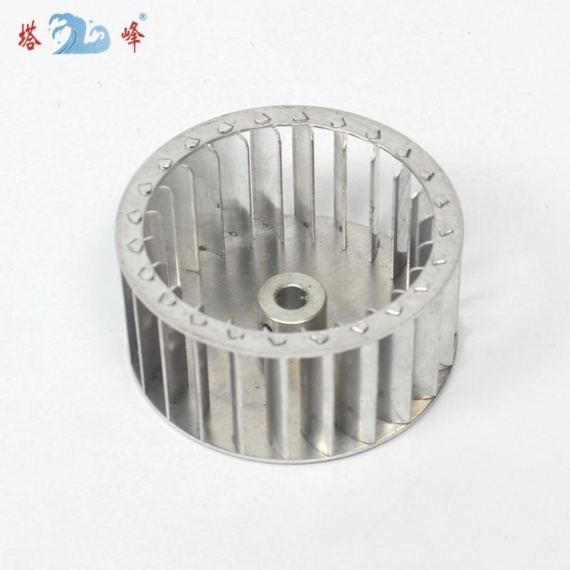 84mm diâmetro 42mm altura 8mm eixo de alumínio ventilador ventilador roda multivane impulsor