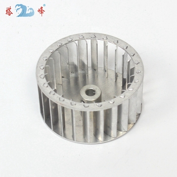 цена на 84mm diameter 42mm height 8mm shaft aluminum blower fan wheel Multivane impeller