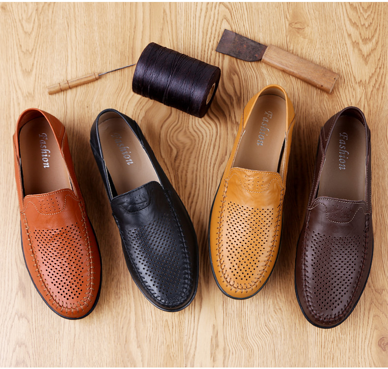HTB1Aisdbvc3T1VjSZLeq6zZsVXao Genuine Leather Men Casual Shoes Luxury Brand Mens Loafers Moccasins Breathable Slip on Black Driving Shoes Plus Size 37-47