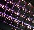 104 Подсветкой PBT Колпачки для Механической Клавиатуры (совместимый для черри переключатели)