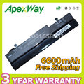 Apexway 9 cell Laptop Battery AL31-1005 AL32-1005 ML32-1005 PL32-1005 For Asus Eee PC 1001P 1001PX 1005 1005H 1005P 1101HA