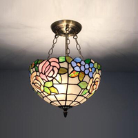 Европейский Средиземноморский подвесные светильники вход цветы балкон сад прохода света творческий подвесные светильники DF84