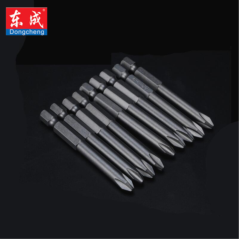 Dongcheng High Quality 50mm S2 Steel Hex Torx Head Drill Screwdriver  Bits Hand Tools Screw Driver Screwdrivers Kit Magnetic