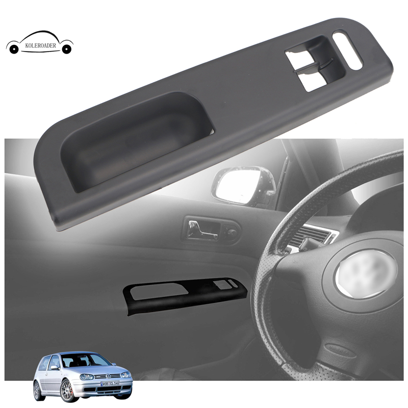 Black Driver Side Door Window Switch Power Control Panel
