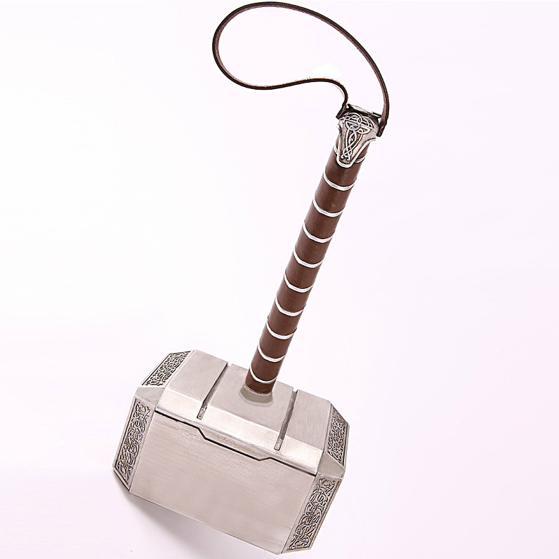 1 1 life size the avengers thor mjolnir prop replica hammer top