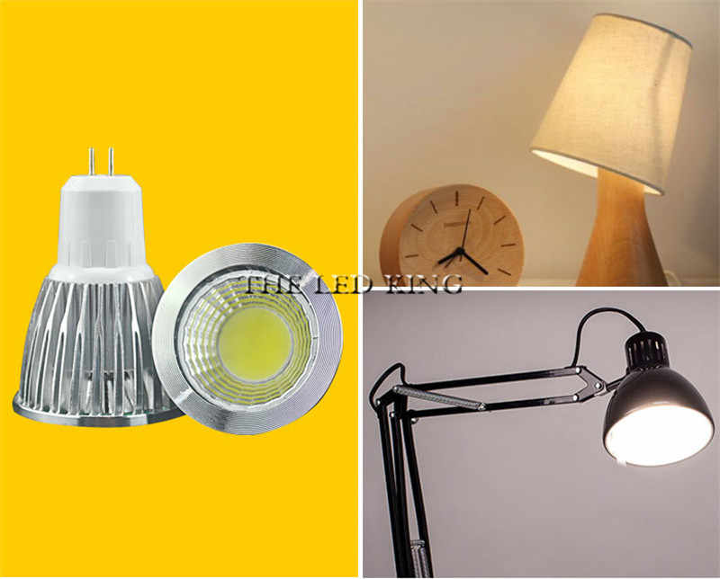 COB led spot 9 W 12 W 15 W led lumières E27 E14 GU10 GU5.3 220 V MR16 12 V Cob ampoule led blanc chaud blanc froid lampada lampe à led