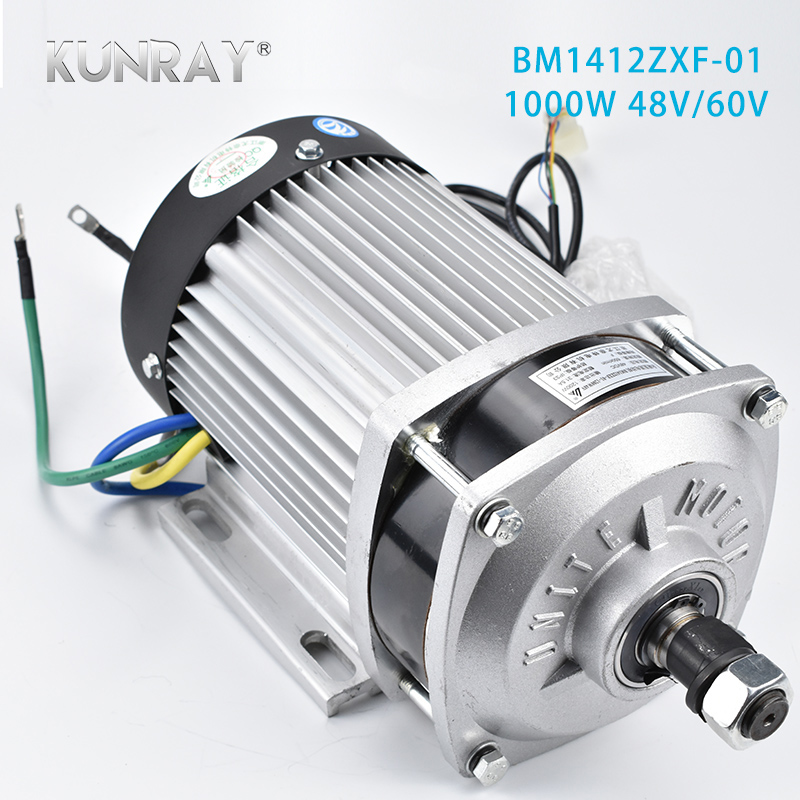 цена на UNITEMOTOR Permanent Magnet DC Gear Electric Motor Brushless 1000W 48V 60V Tricycle Electric Car Mid Central Drive Motor Parts