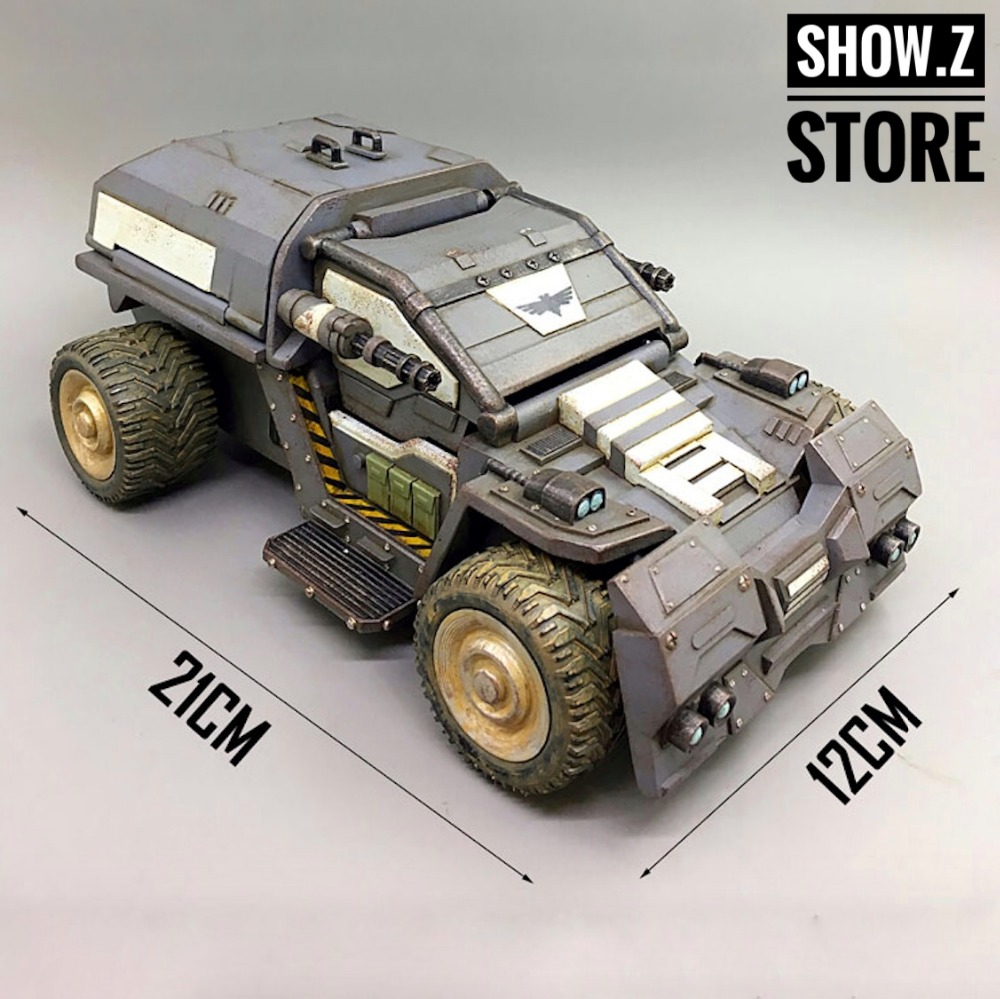 все цены на [Show.Z Store] JoyToy Source Acid Rain Vehicle Rhinoceros Scout Car Ver.2 Action Figure онлайн