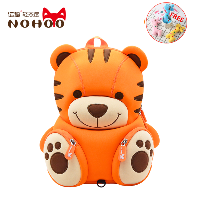 NOHOO Kids Bag For Girls Boys 3-6year Old Children Schoolbags High Quality Waterproof 3D Cartoon School Backpack Mochila Escolar