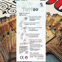 Nu-TATY Nu Era Matrix Barcode Temporary Tattoo Body Art Flash Tattoo Sticker 17*10cm Waterproof Henna Tatoo Selfie Wall Sticker