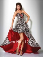 new design vestidos Formal robe de soiree Elegant sexy short After long before girl party gown prom mother of the bride dresses