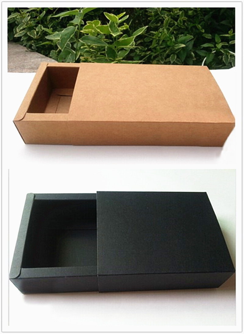 large black/brown shipping boxes packing box,20pcs black shipping cardboard boxes, kraft gift mail box packaging