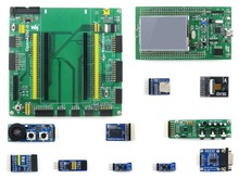 Paquete B con 32F429IDISCOVERY STM32F429ZIT6 Open429Z-D Waveshare STM32 Junta de Desarrollo ARM Cortex M4 + 10 unids Módulos Kits