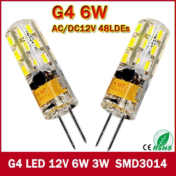 2017 New 1pcs 540Lumen 3W 6W G4...