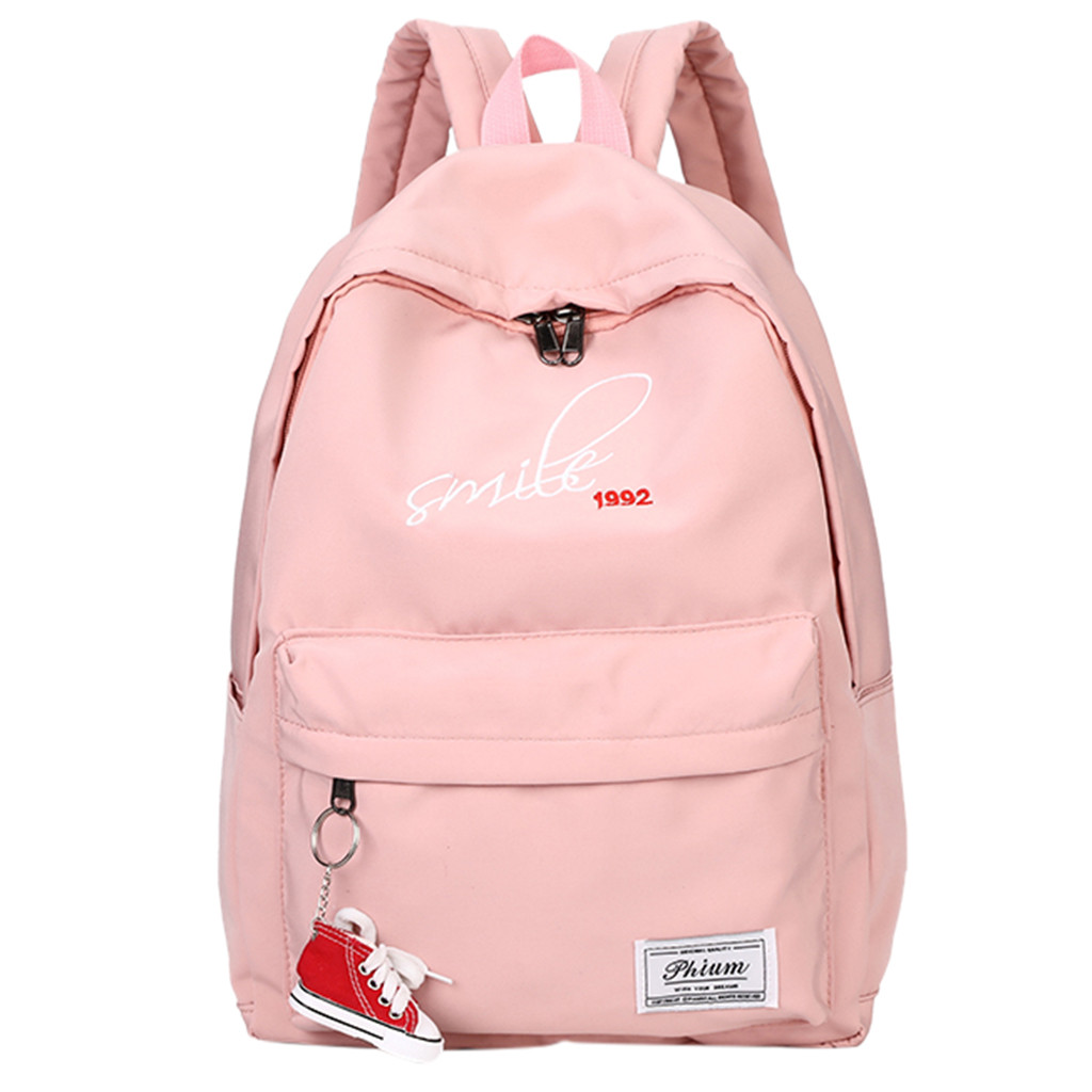 Women Backpack School Bags for Teenage Girls Student Bag Korean Travel Backpack Wild Waterproof Backpacks Travel Satchel #15(China)