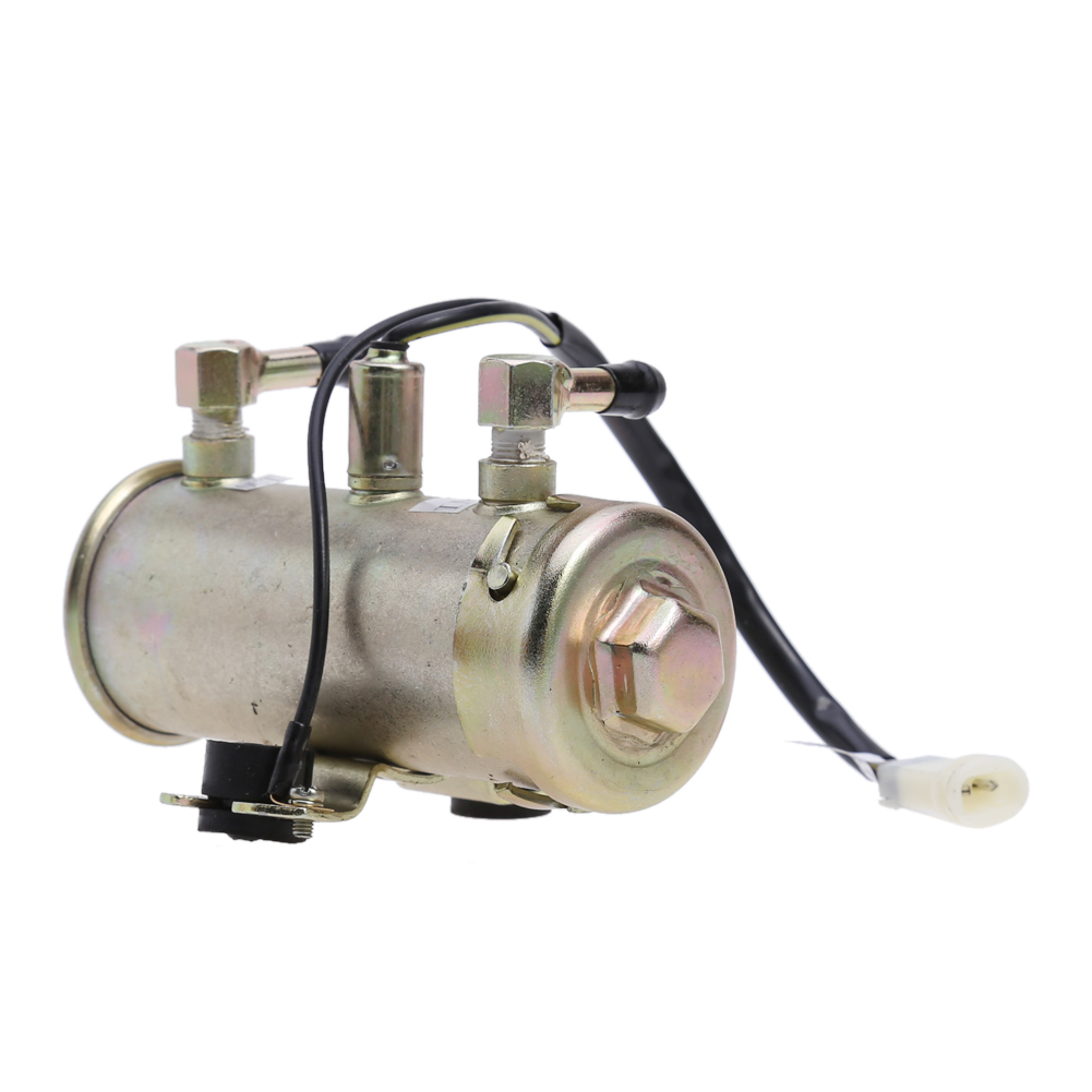 Newest 12V Car Electric Fuel Pump Facet Red Top Style Fuel Petrol Diesel Pump Kit Engine Fuel Pump High Quality electronic fuel pump hep 02a 12v 24v car modification gas diesel low pressure petrol for motorcycle toyota ford yanmar nissan