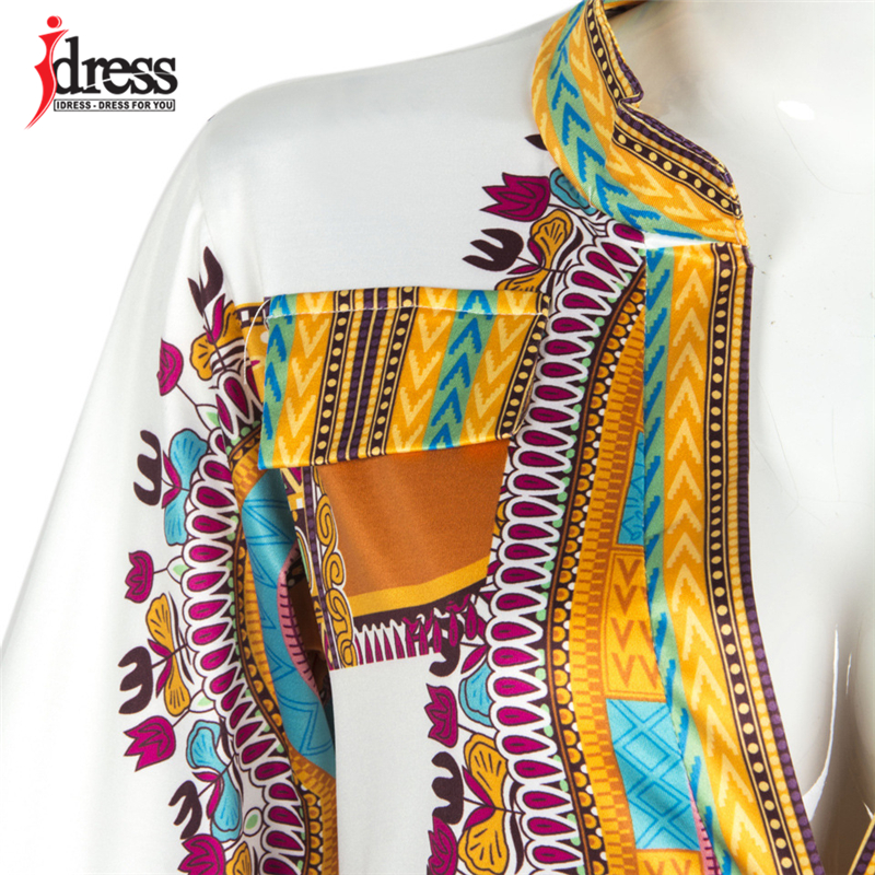 2017 Tunic Beach Dress New Boho Women Dress Sexy Sundresses Deep V Ethnic Dashiki African Print Big Size 3XL Woman SunDress Robe (1)