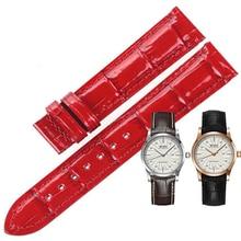 ISUNZUN 17mm Watch Band Womens Bracelet For MIDO M005.007 M016 Strap Cow Leather Watchbands Women Quality Watchband