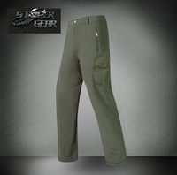 Shark Skin Soft Shell Pant Waterproof Windproof Fleece Outdoor Pants Color Optional Free Shipping SKU12050426