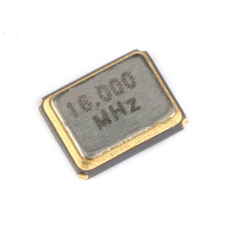 Free Shipping 200pcs/lot High Quality 3225 SMD 16MHz Crystal Oscillator +-20PPM  12Pf Passive Crystal Oscillator
