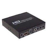 1080P SCART to HDMI Upscale Video Audio Converter HDTV For XBox EU Plug Upscale AV PAL NTSC Signal Adapter HD Receiver 3D