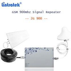 Lintratek 2g repetidor gsm 900 mhz amplificador movil mobilny wzmacniacz sygnału 900 MGC z 10 m kabel komórkowy wzmacniacz gsm kw25f 21