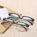 Винтаж глаз кадров оптические очки женщин оптически прозрачной очки мужчины компьютерные четкие очки мужские очки по рецепту 2603