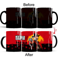 Red Dead:Redemption Mug creative coffee mugs color changing game mug best Gift for your frineds drop shipping|Mugs| |  -