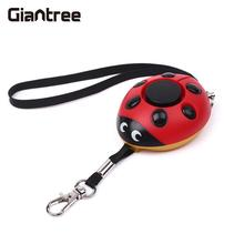 giantree 130db Anti Lost alarm Wolf Self Defense Alarm Security Mini Keychain Amergency Girl Anti Attack Durable Voice alarm