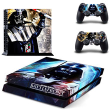 Vinyl Skin Sticker Cover Star Wars Battlefront for Sony PS4 PlayStation 4 Console and 2 controller skins