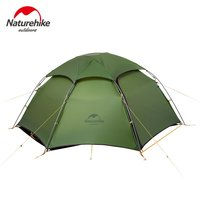 Naturehike 2 Person Camping Tent Spring 2 Layer Rainproof Windproof Tents Outdoor Hiking Climbing Coating High