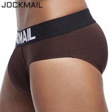 JOCKMAIL Sexy mens underwear briefs Ice silk cool breathable briefs men calzoncillos hombre slip gay men underwear Male Panties