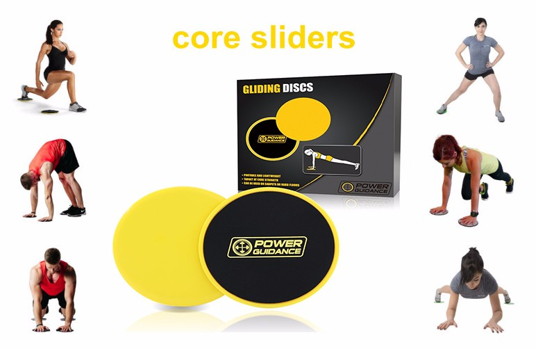 Set Of 2 Core Sliders Dual Sided Gliding Discs
