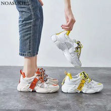 INS Shoes Women Sneakers Fashion Mesh Breathable Platform Stitching Hip Hop Hipsters Tenis Feminino Casual 35-40
