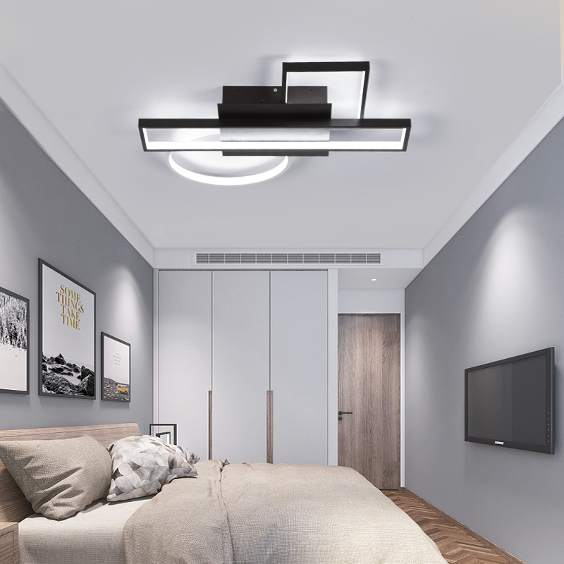 Image 4 - modern chandelier light For living room bedroom Study room Chandelier Lighting Fixture AC110 265V 2018 new Creative combination-in Chandeliers from Lights & Lighting
