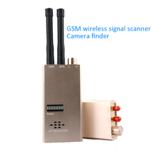 1 PCS Wireless Signal Scanner GSM Finder Device RF Detector MicroWave Detection Security Sensor Alarm Find Anti-Spy safe protect 1 pcs wireless signal rf detector tracer hidden camera finder ghost sensor 100 2400 mhz gsm alarm device radio frequency check