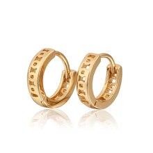 Детские серьги золотого цвета, детские серьги-кольца, модные детские серьги Brinco, 5E18K-81