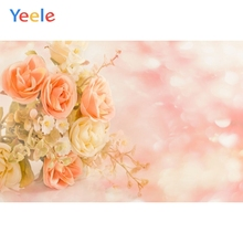 Yeele Vinyl Dreamy Flowers Girl Pincess Birthday Party Photography Background Wedding Love Photographic Backdrop Photo Studio