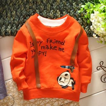 2015 new spring&autumn baby boy shirt cotton long-sleeve t-shirts cartoon kids t-shirt 0-2 year sport baby casual t shirt