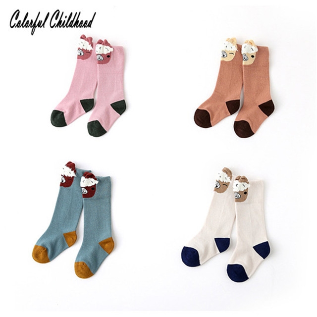 63fd0f1b36c0f US $7.19 20% OFF|4 pairs/lot baby socks alpaca cartoon design lovely winter  warm thick combed cotton sock patchwork kids sock leg warmers 0 5Y-in ...