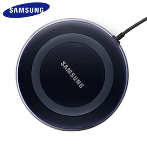 Image 2 - Cargador inalámbrico QI de 5V/2A con panel de carga con cable micro usb para Samsung Galaxy S7 S6 EDGE S8 S9 S10 Plus, para Iphone 8 X XS MAX XR