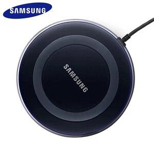 Image 2 - Chargeur sans fil QI 5 V/2A avec câble micro usb pour Samsung Galaxy S7 S6 EDGE S8 S9 S10 Plus pour Iphone 8 X XS MAX XR